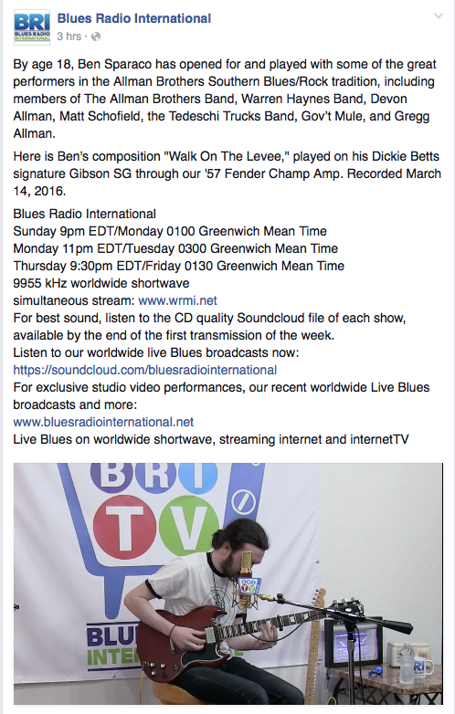 Blues Radio International